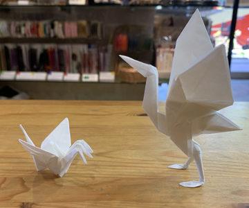 ツルーらぶ 三つのアタマを持つ鶴と立ち姿の鶴のおはなし(中級編) 本格的にオリガミ!⑥