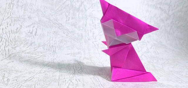 ネコの日と折り紙