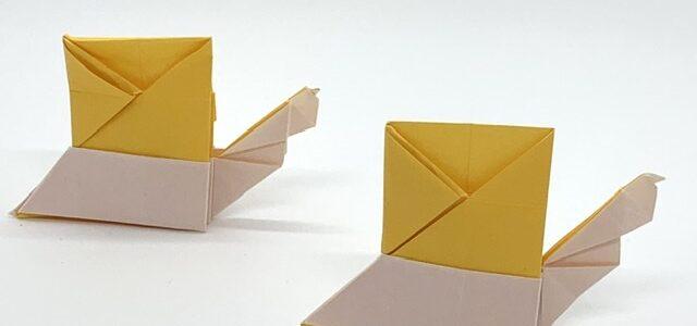 折り紙キット「カタツムリ」発売しました!