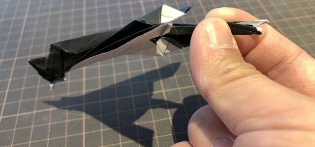 ちょっと飛ぶツバメの折り方動画YouTubeにて公開しました
