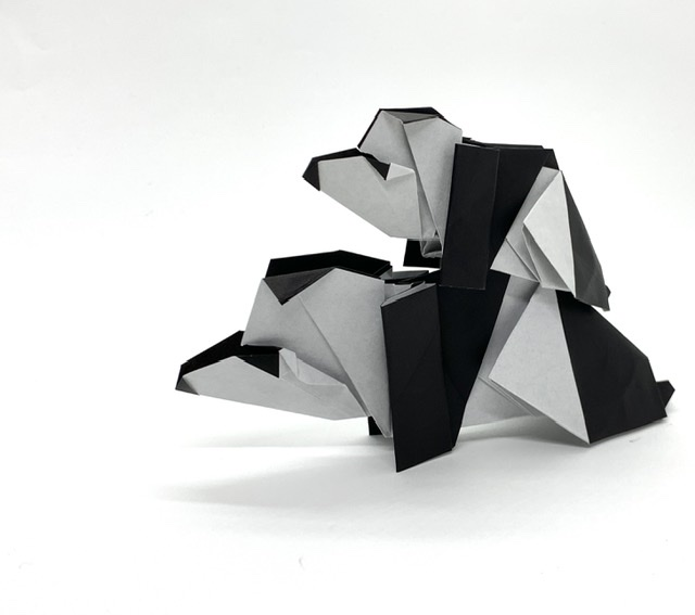 パンダの折り方動画公開&折り紙キット販売しました!