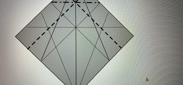 ネコの折り図制作がんばるにゃ(2)