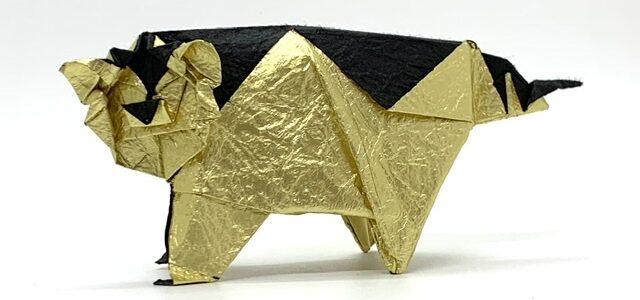 トラの折り図制作開始しました!