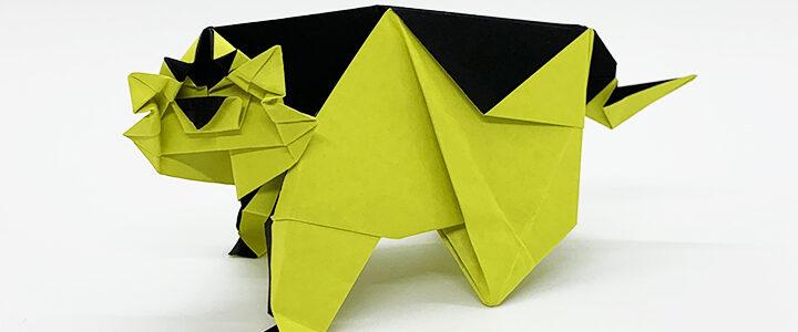 トラの折り紙キット販売しました!